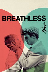 "Poster for the movie ""Breathless"""
