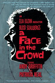 "Poster for the movie ""A Face in the Crowd"""